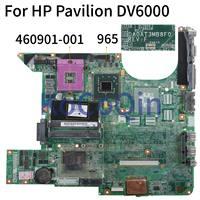 KoCoQin Laptop motherboard For HP Pavilion DV6000 V6000 Mainboard 460901 001 965 DDR2