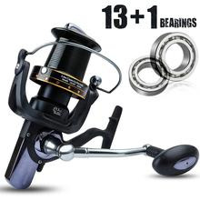 Yumoshi 5 species  Trolling Reel Cheapest Spinning Fishing 1000-10000 Ball 11+1 Bearing Reels carretilhas de pesca