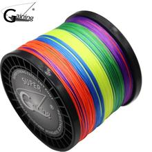 16 Strands Braided Fishing Line 1500m Super Strong Japanese Multifilament PE Braid Line 59LB 77LB 94LB 127LB 136LB 220LB 308LB