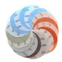 9 шт./компл., 5 дюймов, 8 отверстий, шлифовальная бумага, сухой мягкий шлифовальный диск, круглая гладкая полировка, двойное использование, влажный водонепроницаемый Флокированный