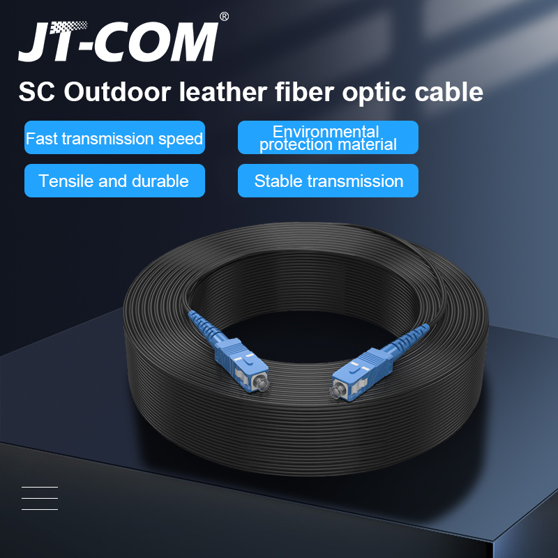 Drop-Cable Cord Sc Upc Fiber-Optic-Patch Simplex Single-Mode Outdoor To