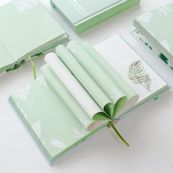 A6 mały świeży liść zielony kolor notesy i czasopisma podróży dziennik z terminarzem ręcznie konto szkicownik do szkoły biurowe 2020 tanie i dobre opinie 49963 Paper 105*140mm