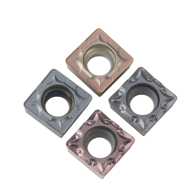 10 pcs of numerical control blade SCMT09T304 SCMT09T308-TM square ceramic blade processing steel stainless steel aluminum parts