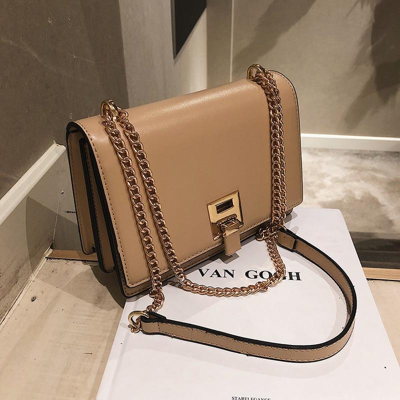 2020 Summer Fashion Women Bag Leather Handbags PU Shoulder Bag Small Flap Crossbody Bags For Women Messenger Bags