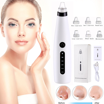 Blackhead Remover Face Deep Nose Cleaner T Zone Pore Acne Pimple Removal Vacuum Suction Facial Diamond Beauty Clean Skin Tool facial vacuum blackhead whitehead remover electric face nose cleaner t zone pore acne pimple removal skin care beauty clean tool