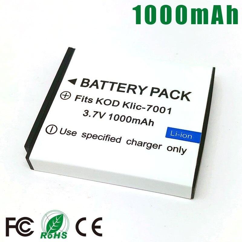 Klic M893 es 7001 Cargador De Batería Para Kodak M853 M863 M893 MD1063 MD41 MD853