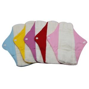 Image 3 - Chất Lượng Tốt Mama Vải Lót Tre Có Thể Giặt Băng Vệ Sinh 5 Với Một Túi