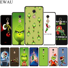 EWAU Monster Grinch Silicone phone case for Xiaomi