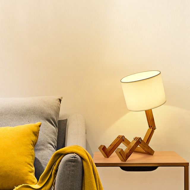 Robot Desk Lamp 4