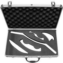1 комплект, массажер для мышц, массажер, нож для тела, шеи, ног, лица, Gua Sha, разминание, акупрессуры, китайский стиль, физиотерапия, инструменты ...