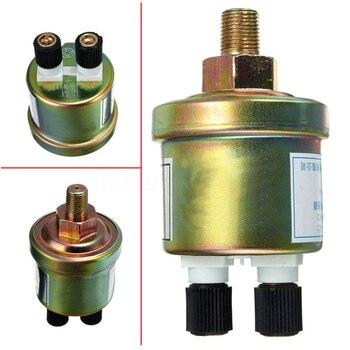 Herramienta de aceite de motor profesional Mini Sensor de presión de Metal 1/8 NPT Unidad de envío doble cabezal interruptor de coche accesorios remitente