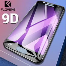 FLOVEME Tempered Glass For Samsung A50 A70 A8 Plus A7 A9 2018 Screen Protector For Samsung A30 A310 A510 A710 Protective Film(China)