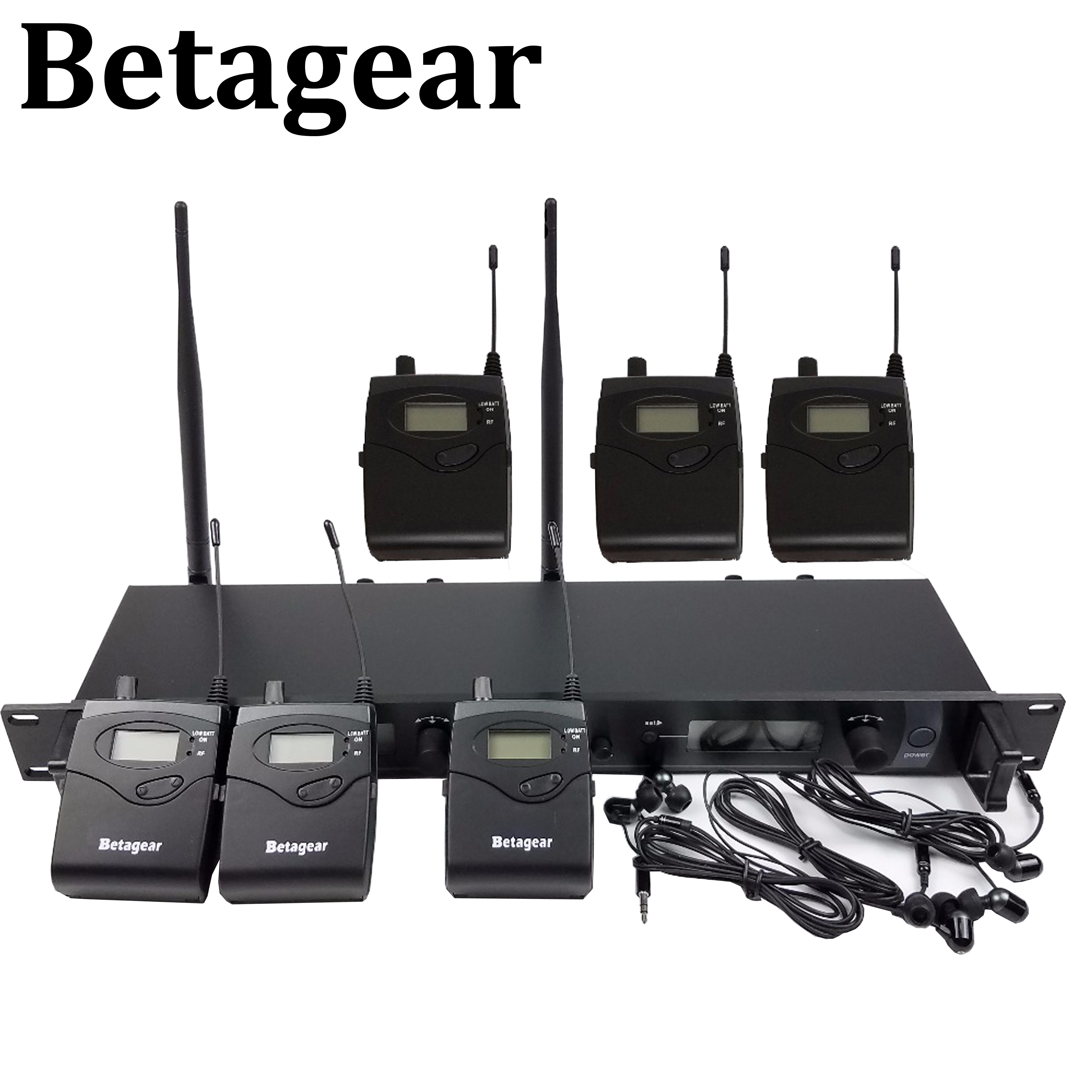 Betagear SR2050 IEM 6 Empfänger in ohr monitor system bühne überwachung system studio professional audio sound system professional