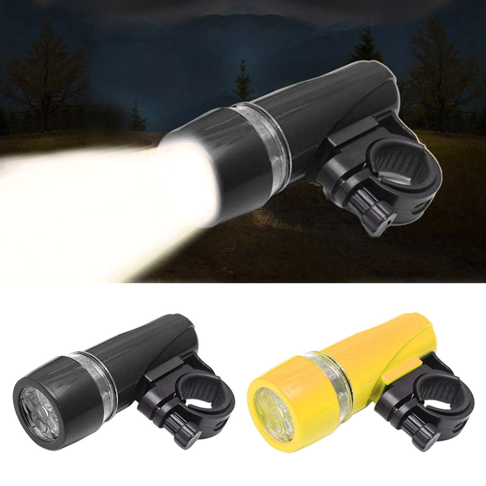 Waterproof 5 LED Bicycle Light Bike Headlight Safety Flashlight Bicycle Front Light lamp Bike Headlight Cycling Lantern
