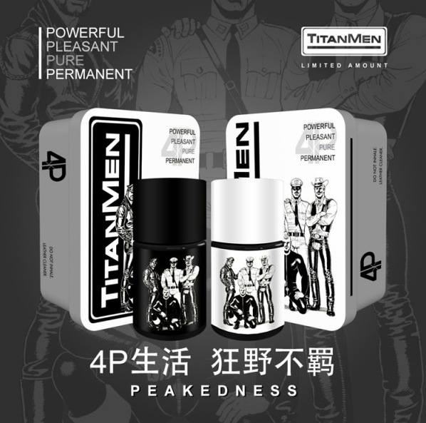 New Design Limited Edition 40ml Men Sprayer, Sex Enhancer, TITANMEN 4P Rush Inhale, Long Lasting Orgasm, Gay Poppers Sex Toys
