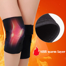 Tourmaline Self-heating Kneepad Magnetic Therapy Adjustabl Support orthopedic kneepad Brace Belt knee Massager Relieve knee pain