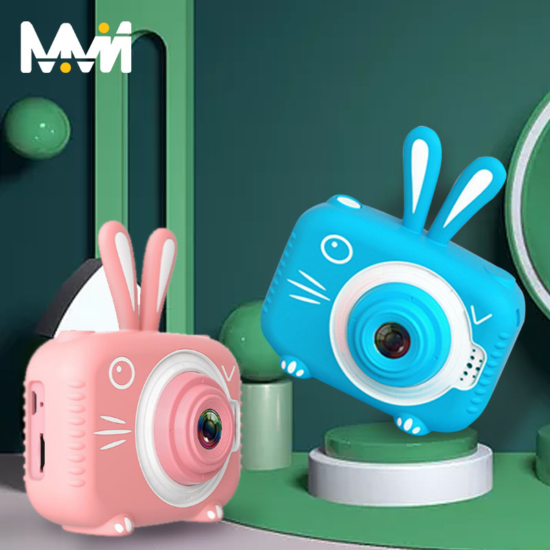 Video-Toy Screen-Camera Pixel Photography Waterproof Outdoor 8-Million Kids Cartoon 1080P