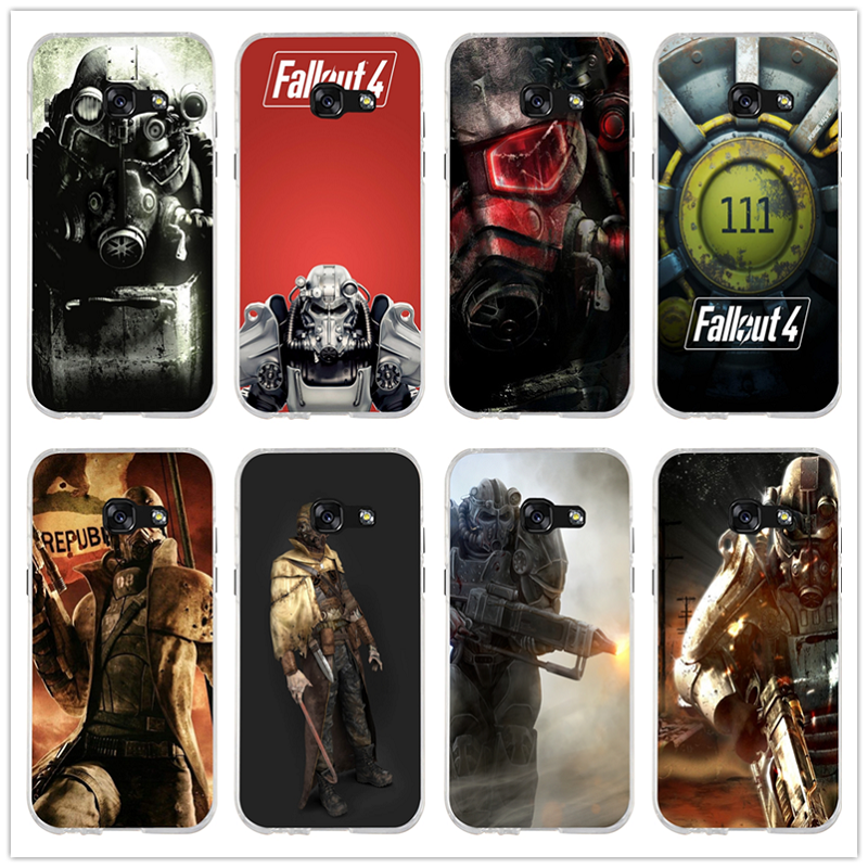 Hot Fallout 4 Video Games Soft TPU Silicone Phone Cases for Samsung Galaxy A3 A5 A7 J1 J2 J3 J5 J7 2016 2017 Coque Shell Bags image