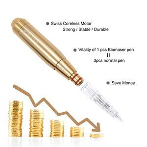 Image 5 - Biomaser оригинальная Перманентная машина для макияжа, ручка для тату, для бровей, швейцарский двигатель, роторная тату машина, вращающийся автомобиль с контролем скорости