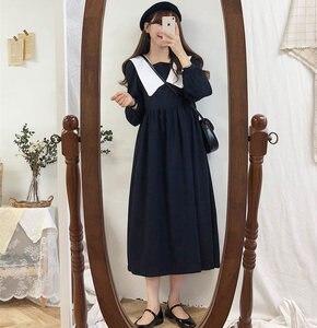 Nouveau grande taille Robe d'automne filles Boho fête femme Vintage Robe plaid boutons à manches longues femmes robes chemise longue Robe Vestido