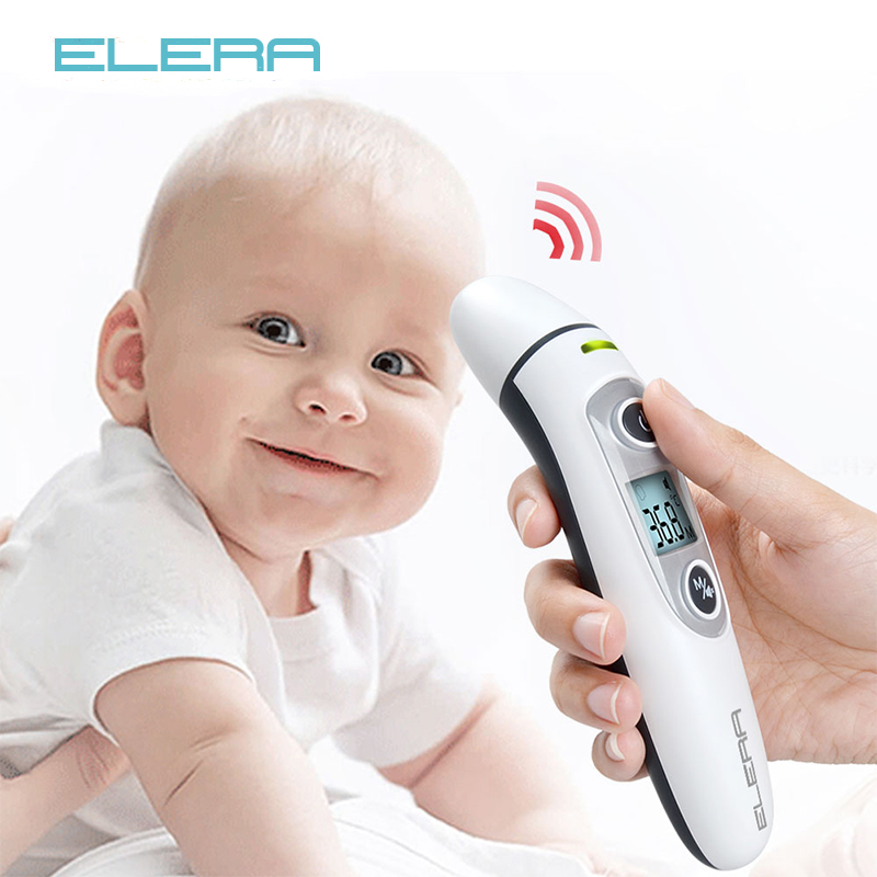 Baby Thermometer Infrared Non-Contact Body Measurement Digital IR LCD Kids Forehead Ear Hot Sell Mom Baby Care Fever Termometro