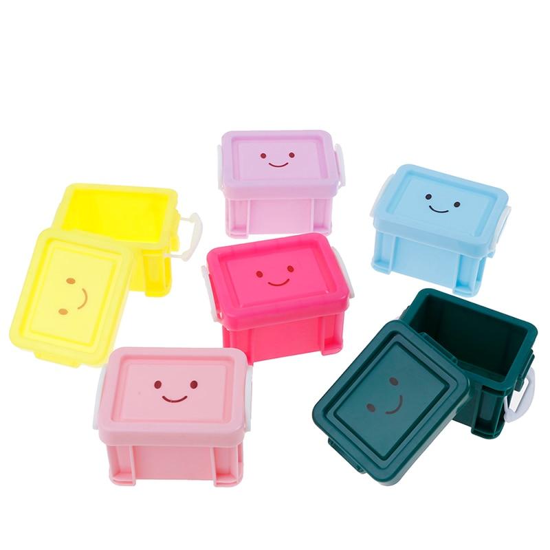 Classic Toys Pretend Play Furniture Toys Accessory  Doll house Miniature Vintage Plastic Suitcase Mini Luggage Box