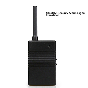 433MHZ Security Wireless Alarm Signal Repeater Signal Amplifier Anti-theft System Accessories Repeater Relay Enhancer