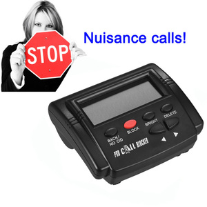 Image 3 - Pro Call Blocker Caller ID Blocker Stop Nuisance Calls FSK/DTMF Dual System Switchable Blacklists Automatic Recognization