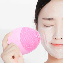 New Silicone Face Cleansing Brush Electric Face Cleanser Facial Cleanser Cleansing Skin Deep Washing
