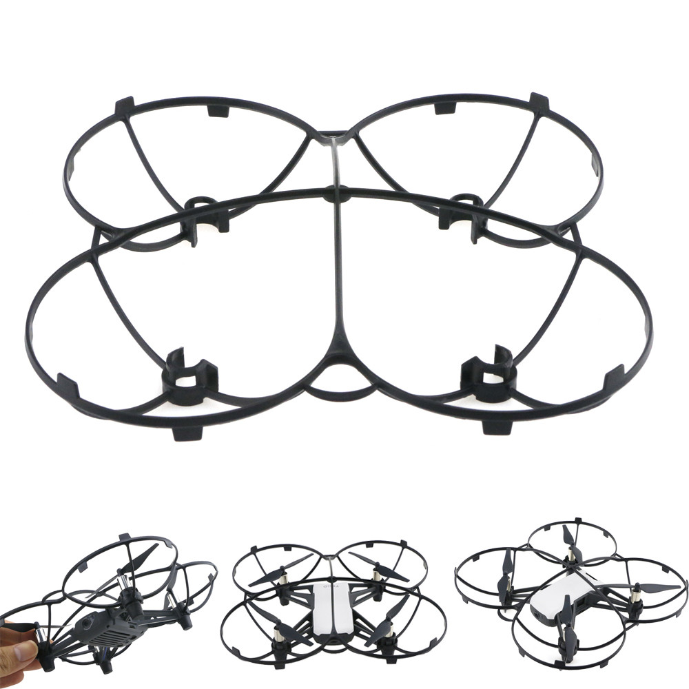 2020 Full Protective Flying Propeller Guard For DJI TELLO Drone Accessories Toys for children gifts игрушки для детей#L28 on AliExpress