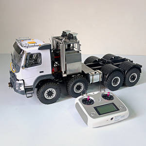 Heavy-Trailer Model Remote-Control Rc Tractor 1:14 Birthday-Gift JDM-136 Full-Drive 8--8
