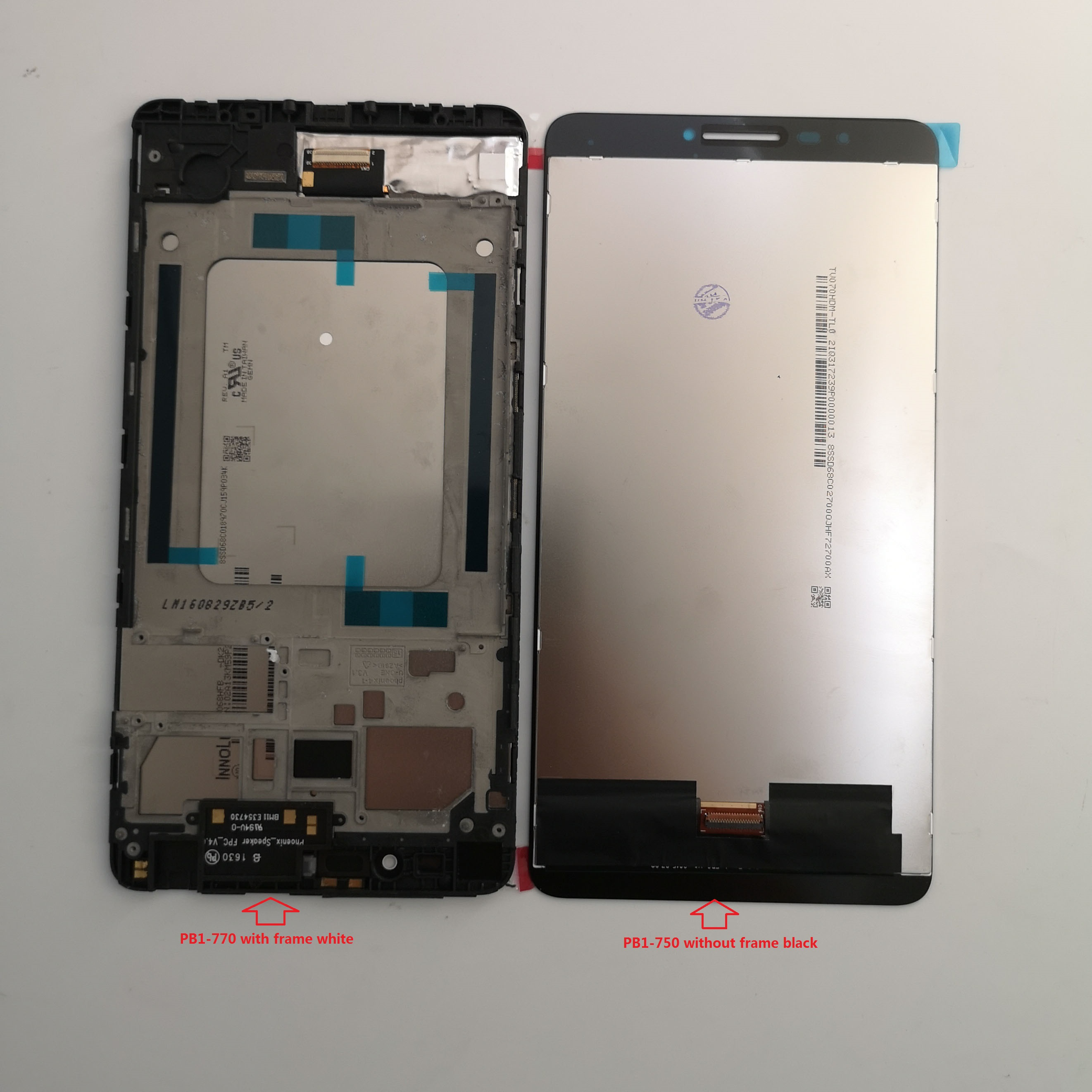 LCD Display + Touch Screen Digitizer Assembly For Lenovo PHAB PB1-750N PB1-750M PB1-750p Pb1-750 Plus PB1-770N PB1-770M PB1-770