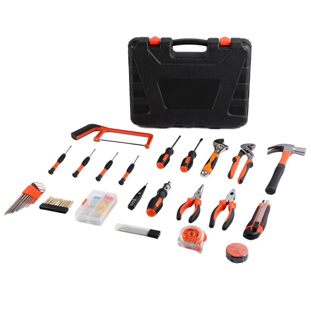 2018 100Pcs Maintenance Repairing Hardware Instrumental Sets Robust Lightweight Multifunctional Hand Tools Kits Fast Delivery