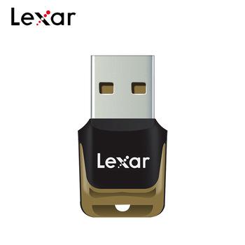 100 oryginalny Lexar profesjonalne USB 3 0 czytnik kart wysokiej prędkości czytnik kart TF UHS-I czytnik kart pamięci tanie i dobre opinie Zewnętrzny CN (pochodzenie) Pojedyncze Karty TF