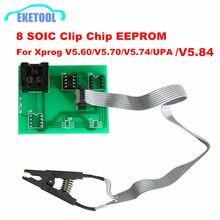 EEPROM Board Adapter 8 Soic Clip für Xprog V5.60/V5.70/V5.84/V5.86/V6.12 UPA Grün V1.3 grün PCB Adapter Soic 8 Sop8 Test Clip