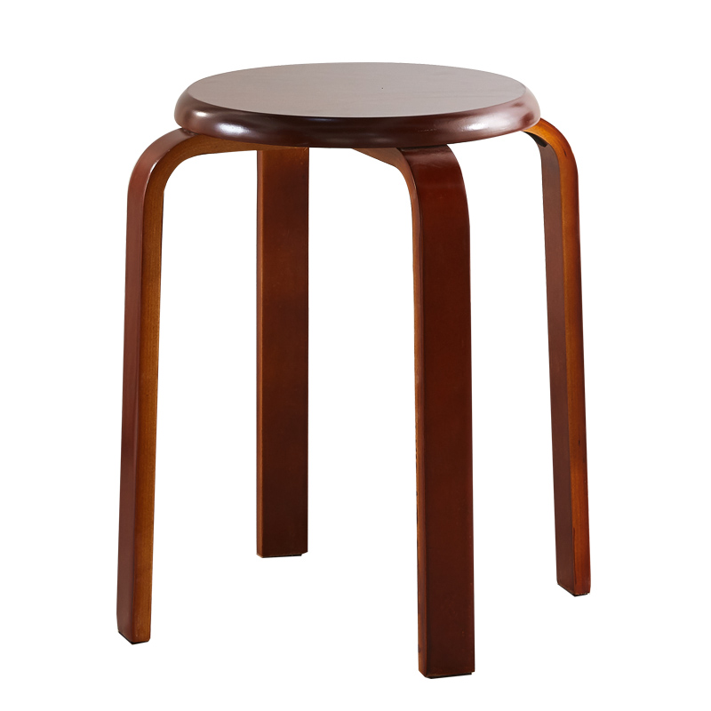 Wooden Stool, Round Stool, Dining Bench, Fashion Creative Wooden Stool, Small Stool, Family Stool, Round Stool, Bench фото