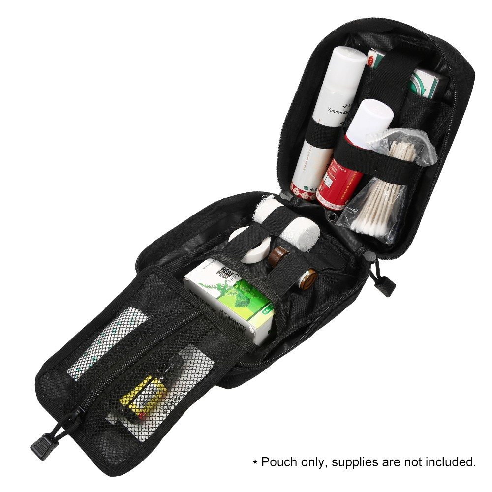 Image 4 - Outdoor MOLLE Medical Pouch First Aid Kit Utility Bag Emergency  Survival First Responder Medic BagEmergency Kits