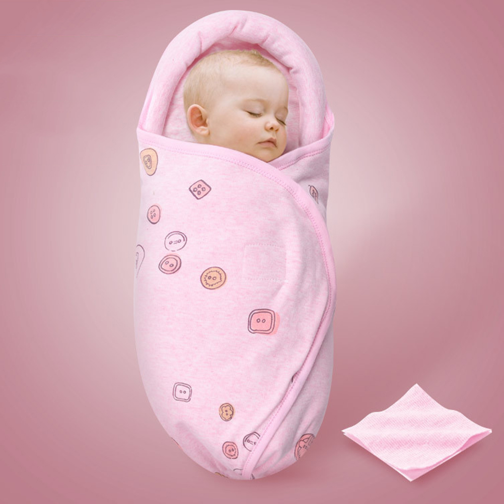 Neck-Protection Baby Swaddle Anti-Shock Sleeping Bag Newborn Baby Care Flat Head Pillow Blanket Swaddles Cotton Wrap