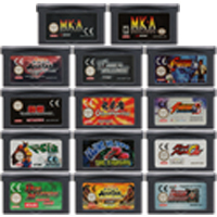 32 Bit Video Game Cartridge Console Card for Nintendo GBA The Fighting Genre Series Edition