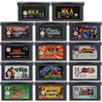 32 Bit Video Game Cartridge Console Card voor Nintendo GBA De Vechten Genre Serie Editie