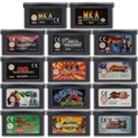 32 Bit Video Spiel Patrone Konsole Karte für Nintendo GBA Die Kampf Genre Serie Edition