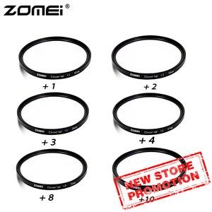 Image 1 - ZOMEI 40.5/49/52/55/58/62/67/72/77/82 ミリメートルクローズアップ + 8 + 10 レンズフィルター一眼レフカメラ用