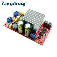 Tenghong – carte amplificateur de puissance numérique TP2050 + TC2001, 50Wx2, classe D, pour haut parleur, cinéma maison, Audio, DIY