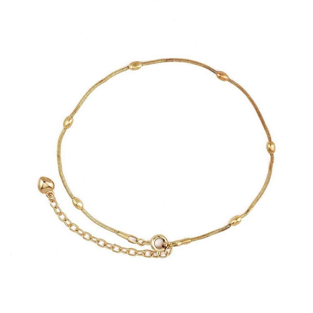 2019 ファッション新アンクルブレスレット女性のためのトレンディ星ハートシンプルなゴールデンシルバーのアンクレット女の子脚チェーンジュエリー