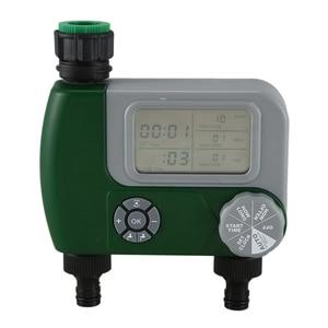 Temporizador Digital automático de agua para jardín, controlador de sistema de riego con filtro, temporizador automático para jardín de riego al aire libre