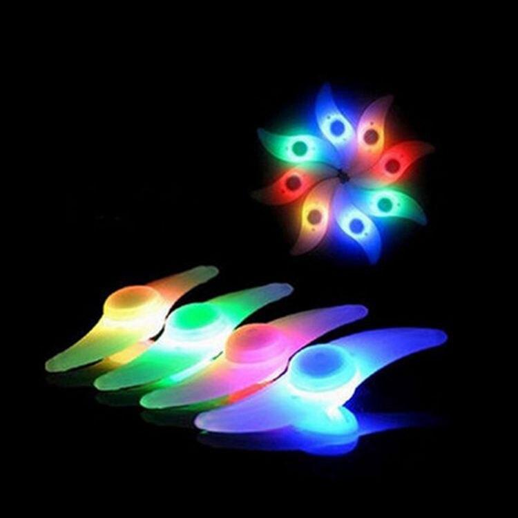Bicycle Gang Si Deng Night Riding Decorative Lights Willow Spokes Lamp Mountain Bike Fixed Gear Hot Wheels Riding Equipment