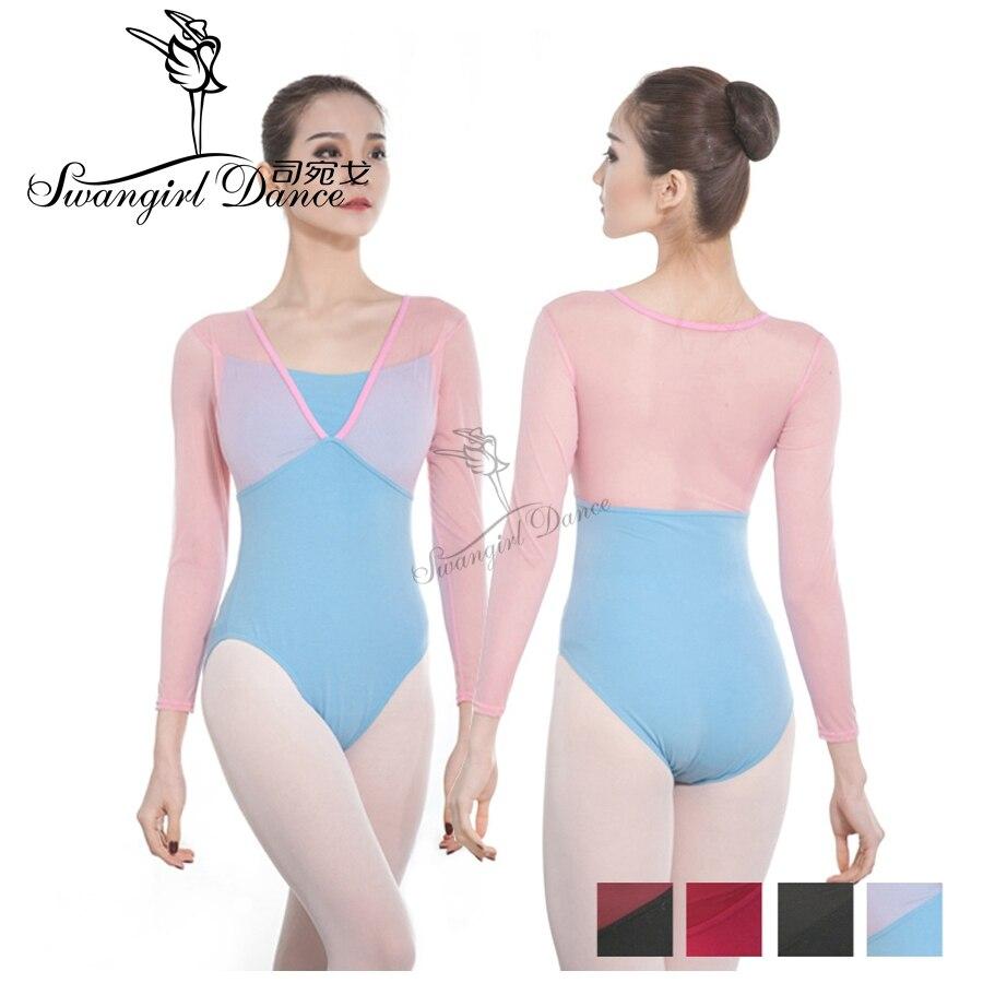 Girls Sleeveless Gymnastics Leotard Ballet Dance Cotton Lace Bodysuit Unitard