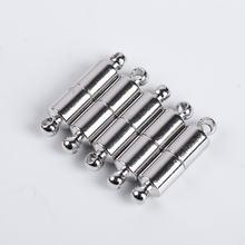 10 шт/лот магнитная пряжка из нержавеющей стали для ожерелья