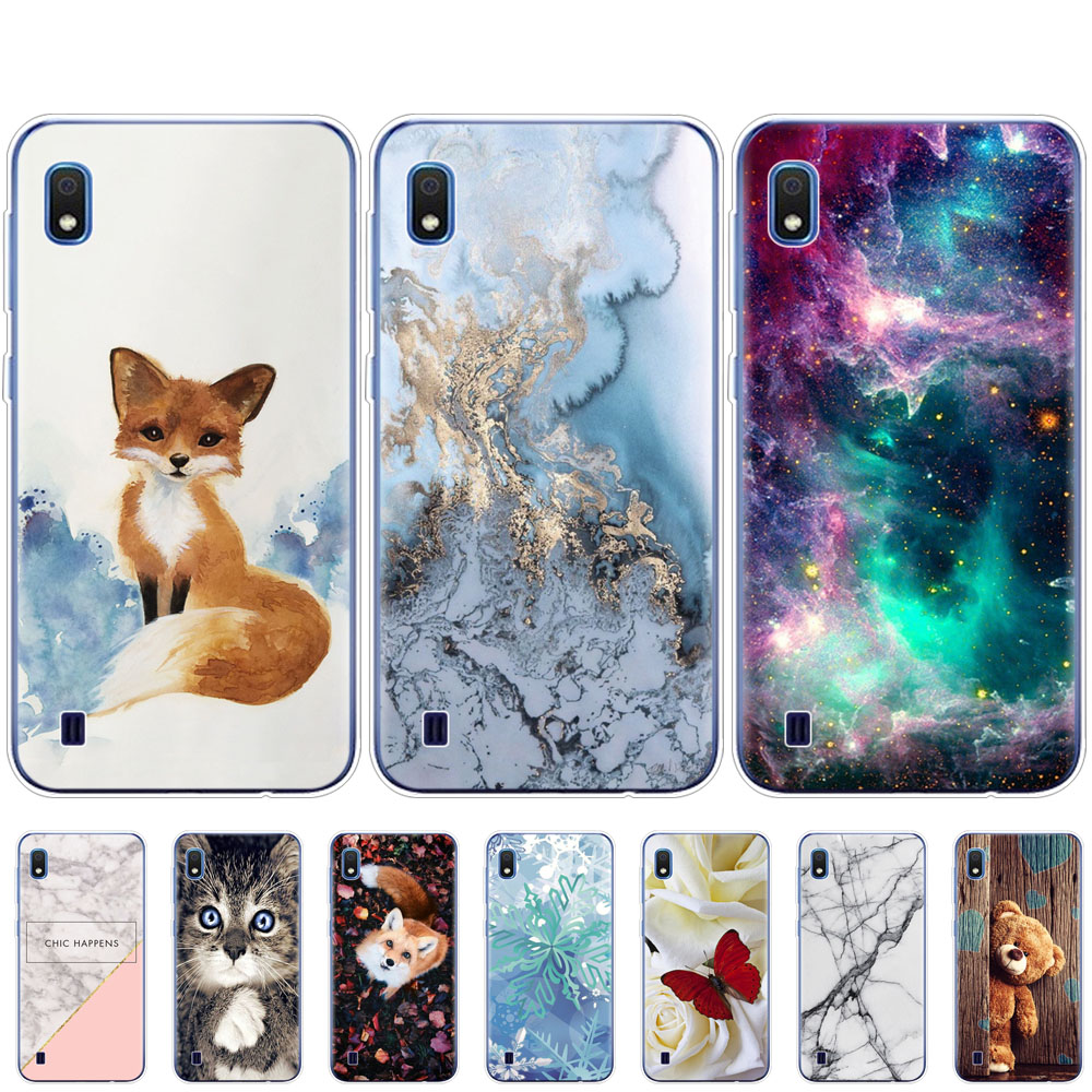 Case For <font><b>Samsung</b></font> <font><b>A10</b></font> Case cover Soft Silicone Phone <font><b>coque</b></font> on For <font><b>Samsung</b></font> Galaxy <font><b>A10</b></font> A 10 SM-A105F A105 A105F cartoon coqa image