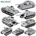 Military Serie Deutsch Kampfpanzer Modell Technische Bausteine WW2 Armee Soldaten Zahlen Auto Ziegel Spielzeug Geschenke Für Kinder Jungen
